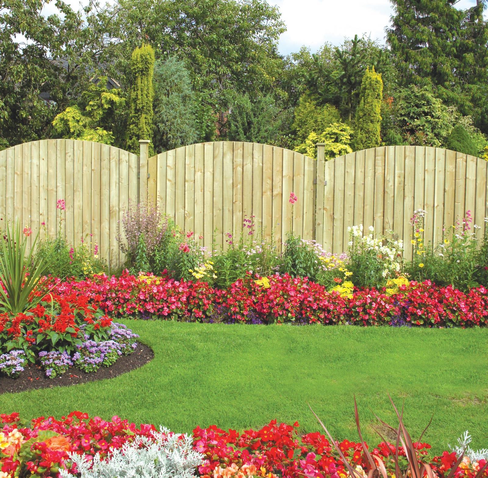 Сад забор своими руками